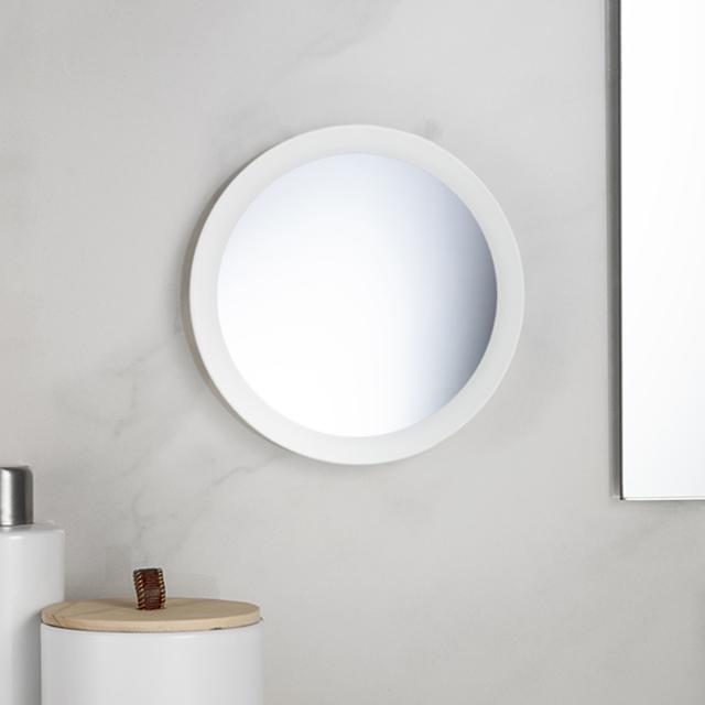 Avenarius Kosmetikspiegel zur Wand- / Standmontage weiß