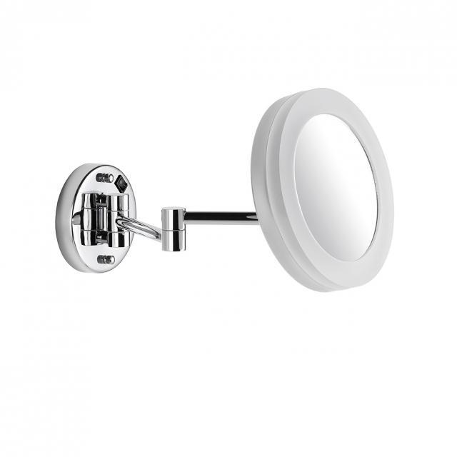Avenarius LED-Kosmetikspiegel zur Wandmontage für Direktanschluss