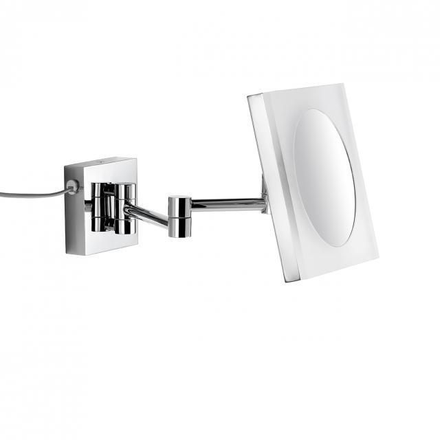 Avenarius LED-Kosmetikspiegel zur Wandmontage mit Steckernetzteil