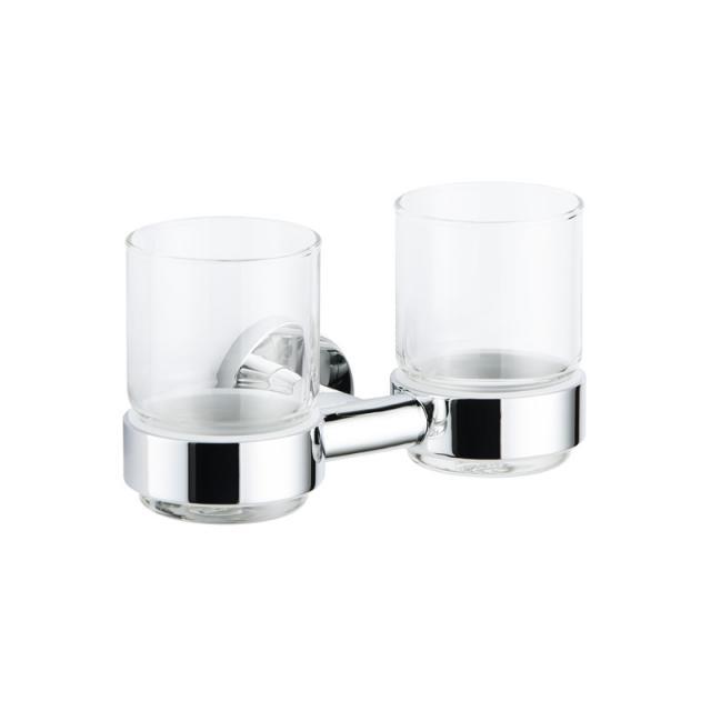 Avenarius Serie 200 Doppelhalter mit 2 Gläsern