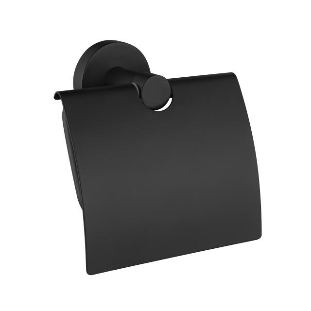 Avenarius Serie 200 Papierhalter mit Deckel schwarz matt