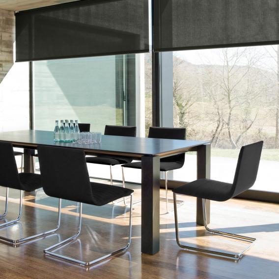Andreu World Lineal Corporate Freischwinger, Echtleder