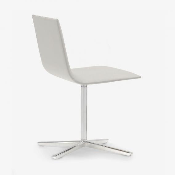 Andreu World Lineal Corporate Stuhl, Echtleder