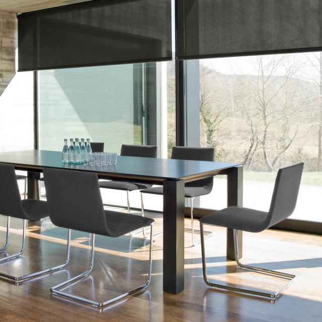 Andreu World Lineal Corporate Freischwinger, Stoff