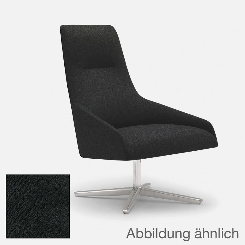 andreu world alya sessel mit hoher r ckenlehne echtleder bu 1520 fu reuter. Black Bedroom Furniture Sets. Home Design Ideas