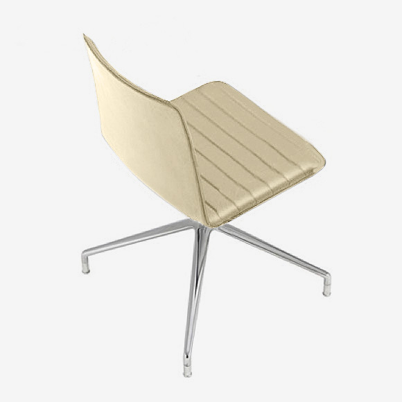 Andreu World Flex High Back Stuhl Echtleder Si 1638fußalupol