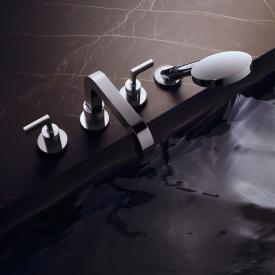AXOR Citterio 4-Loch Wannenrandarmatur mit Hebelgriffen
