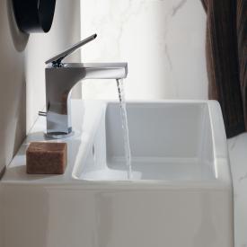 AXOR Citterio Einhebel-Waschtischarmatur 90 mit Ablaufgarnitur