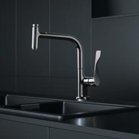 AXOR Citterio Select Einhebel-Küchenmischer 230 2jet mit Ausziehbrause und sBox chrom