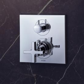 AXOR Citterio Thermostatbatterie mit Ab-/Umstellventil mit Kreuzgriff