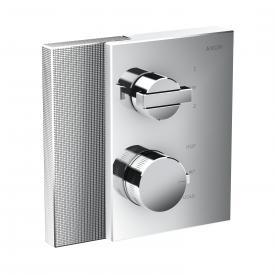AXOR Edge Thermostat mit Diamantschliff mit Ab- und Umstellventil