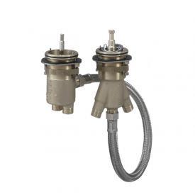 AXOR Grundkörper für 2-Loch Wannenrandarmatur mit Thermostat