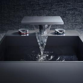 AXOR Massaud 3-Loch Waschtischarmatur 80 mit Ablaufgarnitur