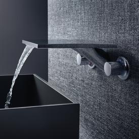 AXOR Massaud 3-Loch Waschtischarmatur für Wandmontage Ausladung: 259 mm