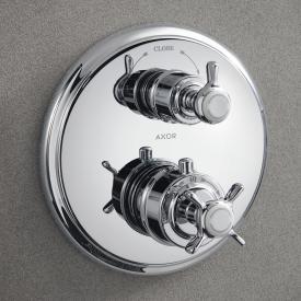 AXOR Montreux Thermostatbatterie mit Absperrventil chrom