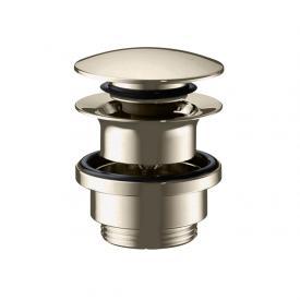 AXOR Push-Open Ablaufgarnitur für Waschtisch- und Bidetmischer nickel gebürstet