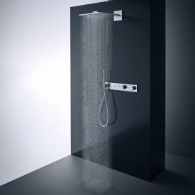 AXOR ShowerSolutions 2jet Kopfbrause mit Brausearm chrom