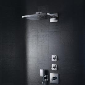 AXOR ShowerSolutions 460 / 300 1jet Kopfbrause mit Brausearm, mit Softcube Rosette
