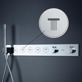 AXOR ShowerSolutions Druckknopf Symbol für Thermostatmodul Select