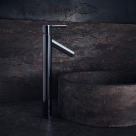 AXOR Starck Einhebel-Waschtischmischer 250, für Waschschalen, mit Hebelgriff mit Ablaufgarnitur
