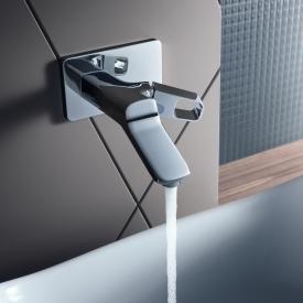 AXOR Urquiola Einhebel-Waschtischmischer für Wandmontage Ausladung: 200 mm