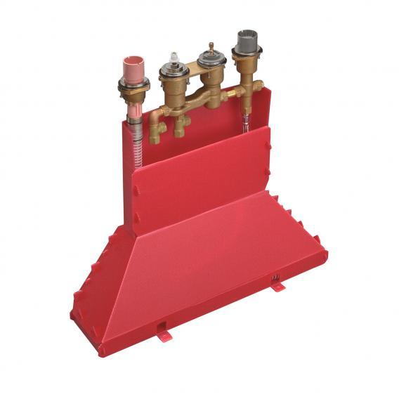 AXOR Grundkörper für 4-Loch Fliesenrandarmatur mit Thermostat