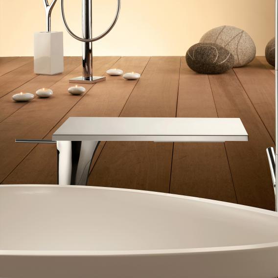 AXOR Massaud Einhebel-Waschtischmischer 220, für Waschschüsseln chrom, mit Ablaufgarnitur