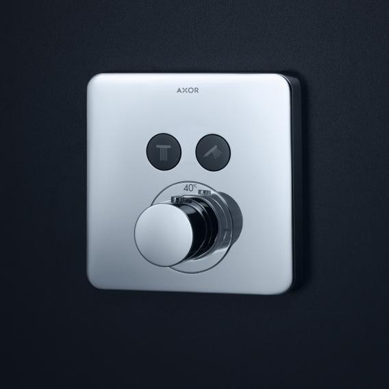 AXOR ShowerSelect Soft Cube Thermostat Unterputz für 2 Verbraucher