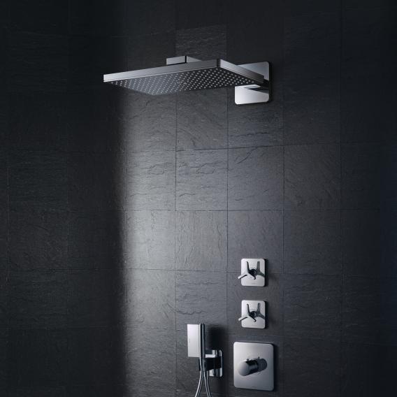 AXOR ShowerSolutions 460 / 300 1jet Kopfbrause mit Brausearm, mit Softcube Rosette