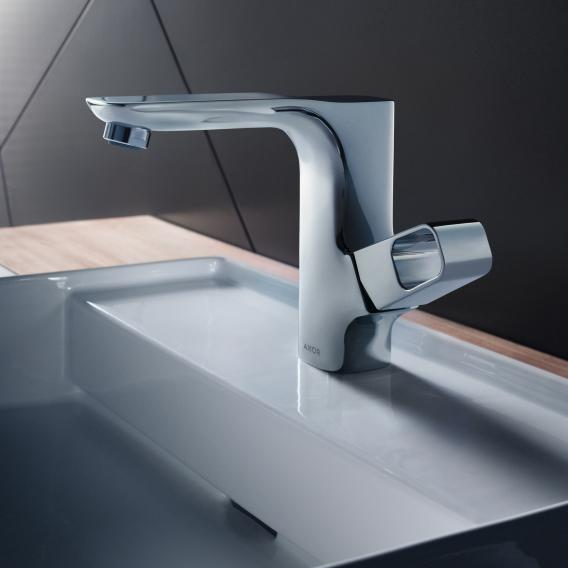 AXOR Urquiola Einhebel-Waschtischmischer 130 mit Ablaufgarnitur