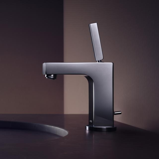 AXOR Citterio Einhebel-Waschtischmischer 110 chrom, mit Ablaufgarnitur