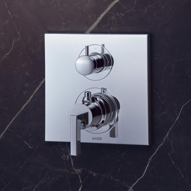 AXOR Citterio Thermostatbatterie mit Ab-/Umstellventil mit Hebelgriff