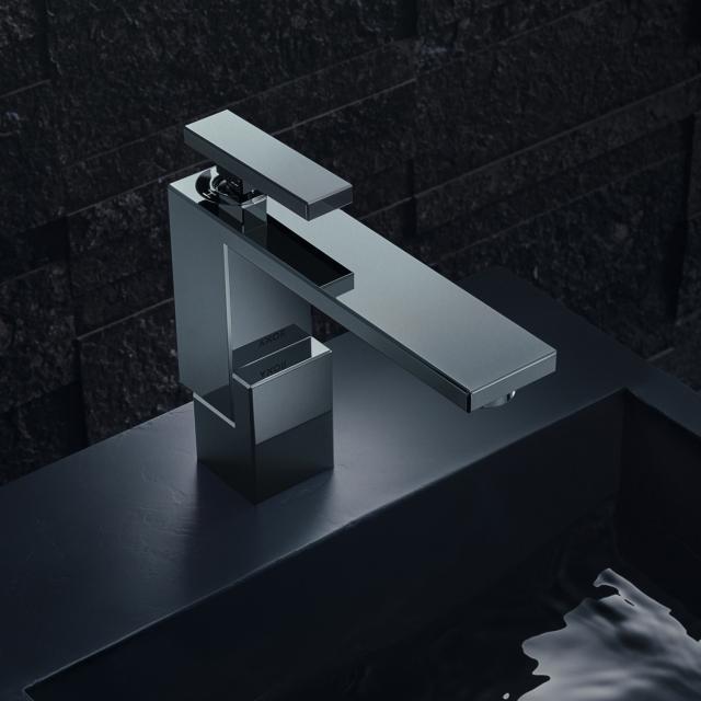 AXOR Edge Einhebel-Waschtischmischer 130 mit Ablaufgarnitur