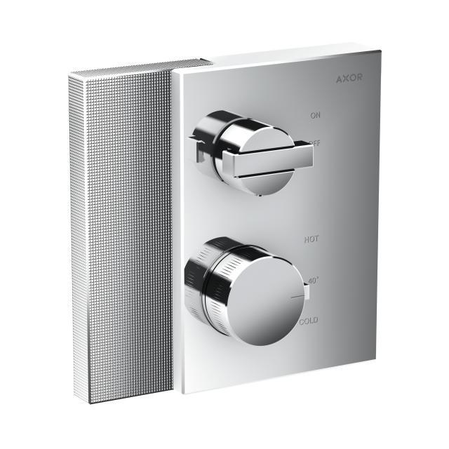 AXOR Edge Thermostat mit Diamantschliff mit Absperrventil