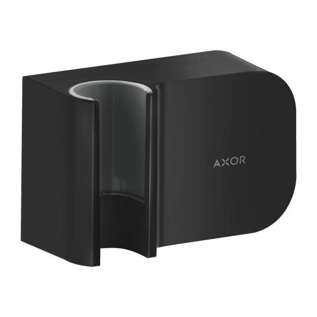 AXOR One Portereinheit Schlauchanschluss mit Halterfunktion für Handbrausen schwarz matt