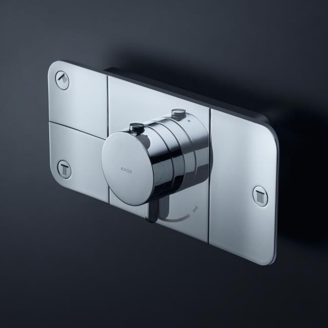 AXOR One Thermostatmodul Unterputz für 3 Verbraucher chrom