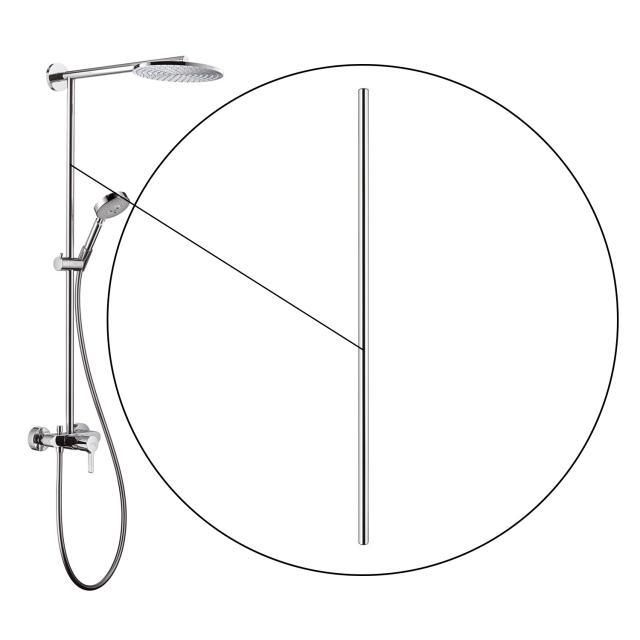 AXOR Rohr 1000 mm zu Raindance Showerpipe 240 27193000 PG12