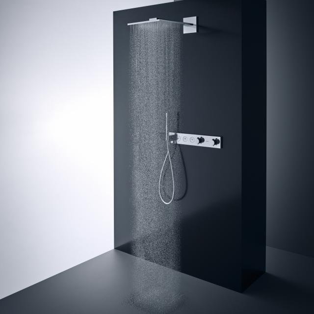 AXOR ShowerSolutions 1jet Kopfbrause mit Brausearm chrom