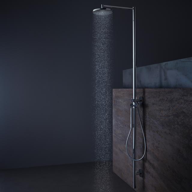 AXOR Starck Duschsäule mit Thermostat und 1jet Tellerkopfbrause