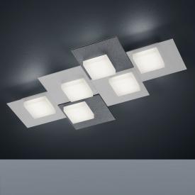 BANKAMP CUBE LED Deckenleuchte / Wandleuchte 6-flammig mit Dimmer, rechteckig
