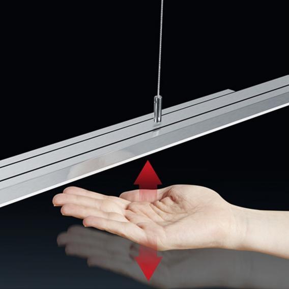 BANKAMP L-lightLINE LED Pendelleuchte mit Dimmer