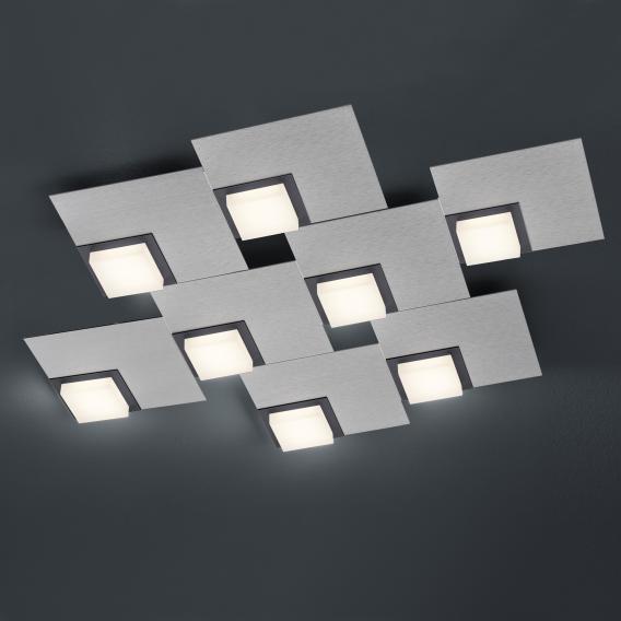 BANKAMP QUADRO LED Deckenleuchte / Wandleuchte 8-flammig mit Dimmer