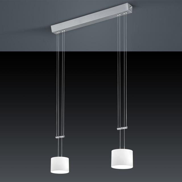 BANKAMP GRAZIA LED Pendelleuchte 2-flammig mit Dimmer