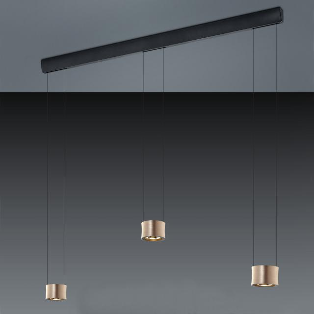 BANKAMP IMPULSE LED Pendelleuchte 3-flammig