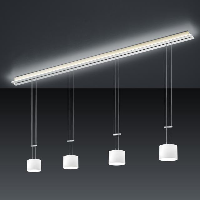 BANKAMP STRADA GRAZIA LED Pendelleuchte 5-flammig mit Dimmer