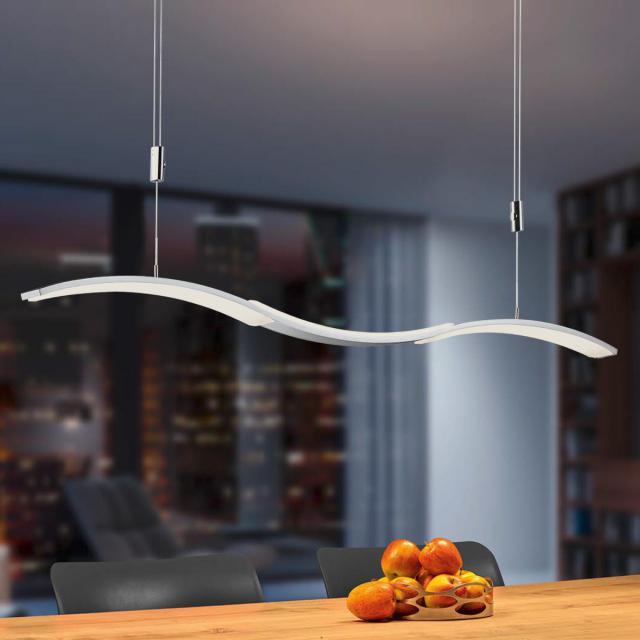 BANKAMP WAVE II LED Pendelleuchte mit Vertical Dimm