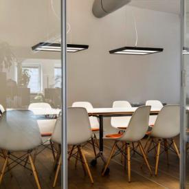 belux karo Multisens LED Pendelleuchte mit Bewegungsmelder