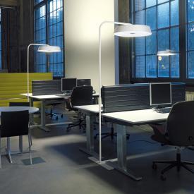 belux koi neo Multisens LED Bogenleuchte mit Dimmer und Bewegungsmelder