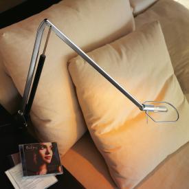 belux liftolino LED Tischleuchte mit Tischzwinge und Dimmer