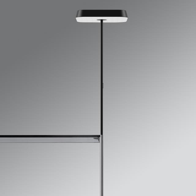 belux koi-q LED Tischleuchte mit Schraubbefestigung und Dimmer